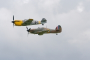 Hispano HA-112 MIL Buchon & Hawker Hurricane Mk1